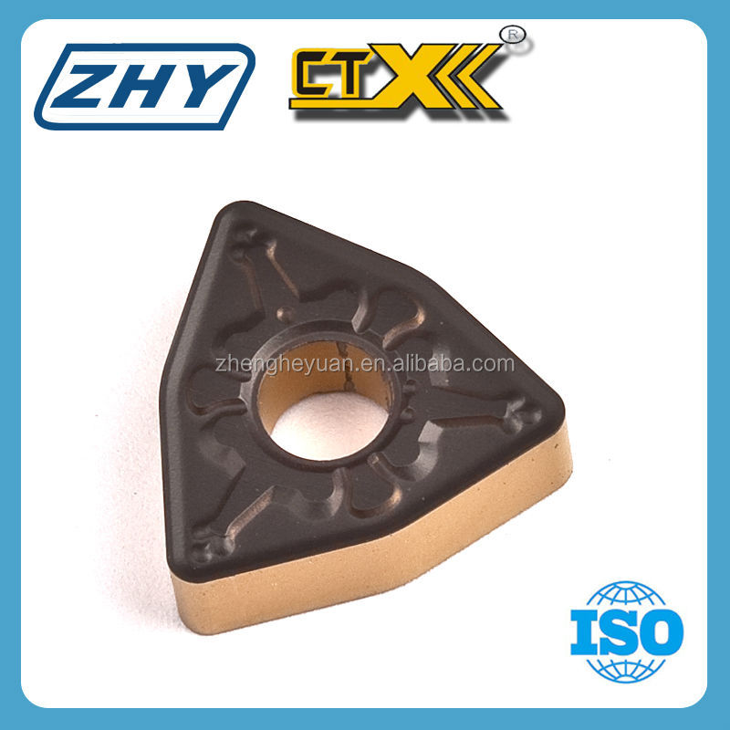 ZHY WNMG Cemented Carbide Cnc Turning Tool Inserts Supplier