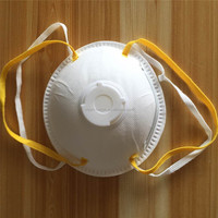 8210 Cup design disposable non woven N95 dust face mask with ear loop