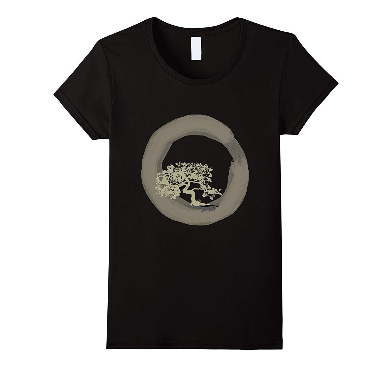 Enso Circle Tshirt Eastern Culture Zen