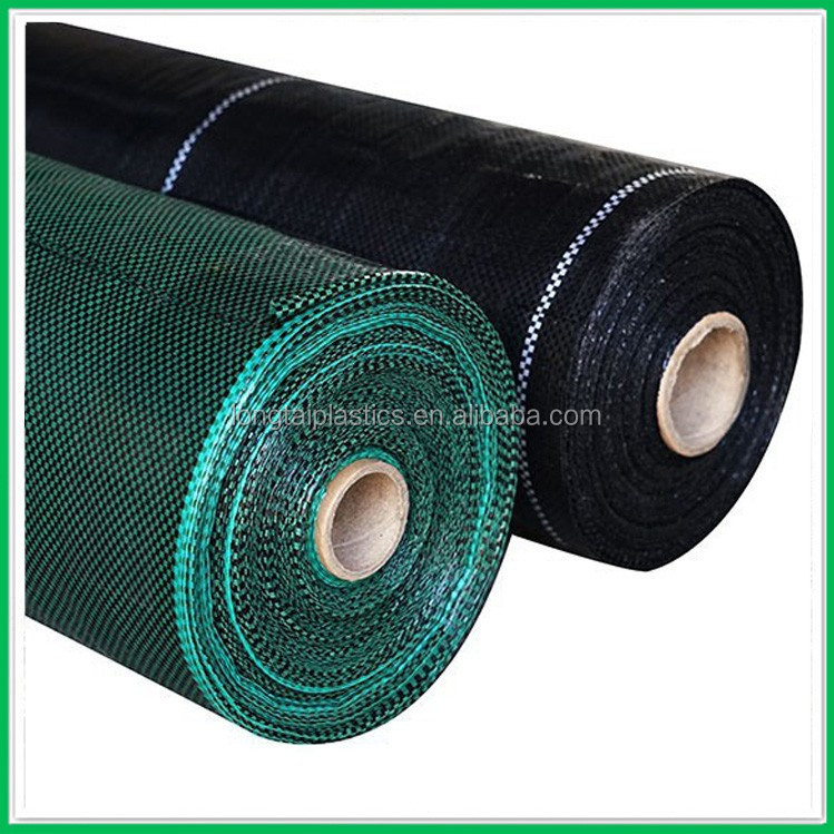 Agriculture PP woven weed barrier fabric anti weed mat for strawberries blueberries horticulture ground cover weed control mat