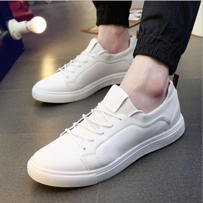 zm40649a Wholesale shoes men sneakers white color sport shoes 2017