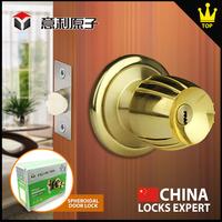 Fire proof security door lock The best anti-theft brass entrance door lock