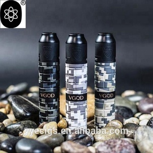 2018 100%original Newest version Mechanical Kit 2ml VGOD Pro Mech 2 Kit camo series with Elite RDA