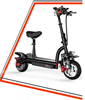 10 inches 800w electric scooter adult folding lithium battery double suspension bike pedal balanced car disc brake