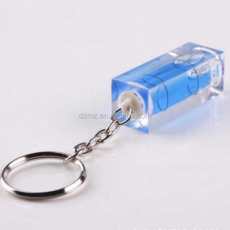 Mini Spirit Level Keychain