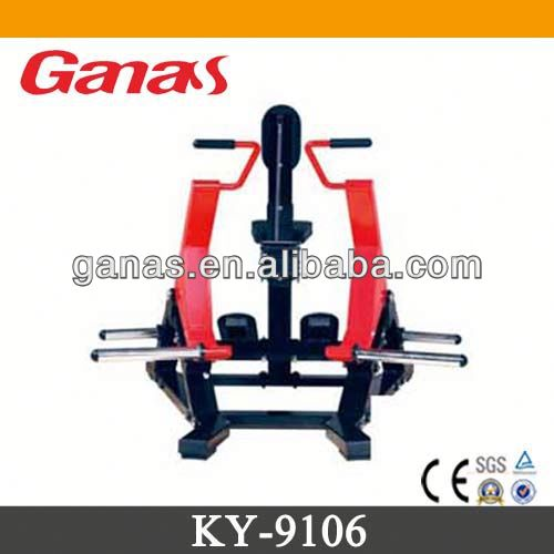 Seated row machine hammer strength machine/back exerciser