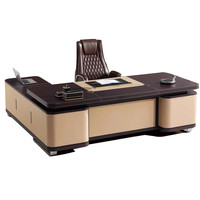 Hot sale lechong supplier modern design office table escritorio high quality manager desk office F62