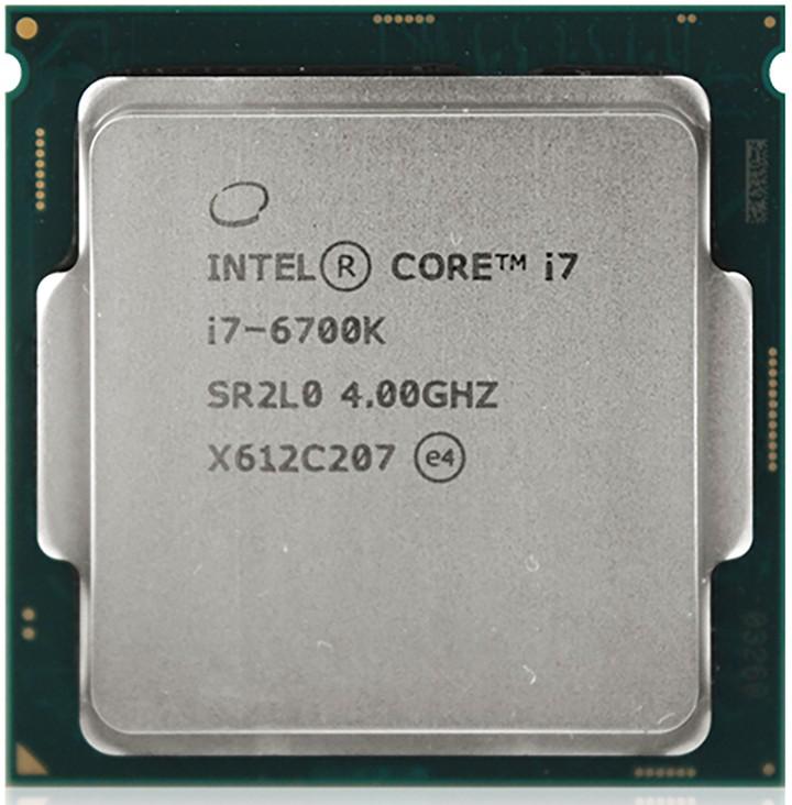 original for intel core i7 6700k processor 8mb cache quad core socket lga 1151 over. Black Bedroom Furniture Sets. Home Design Ideas