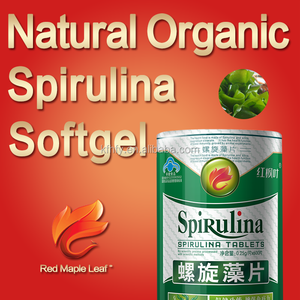 Spirulina Soft Capsules of spirulina products