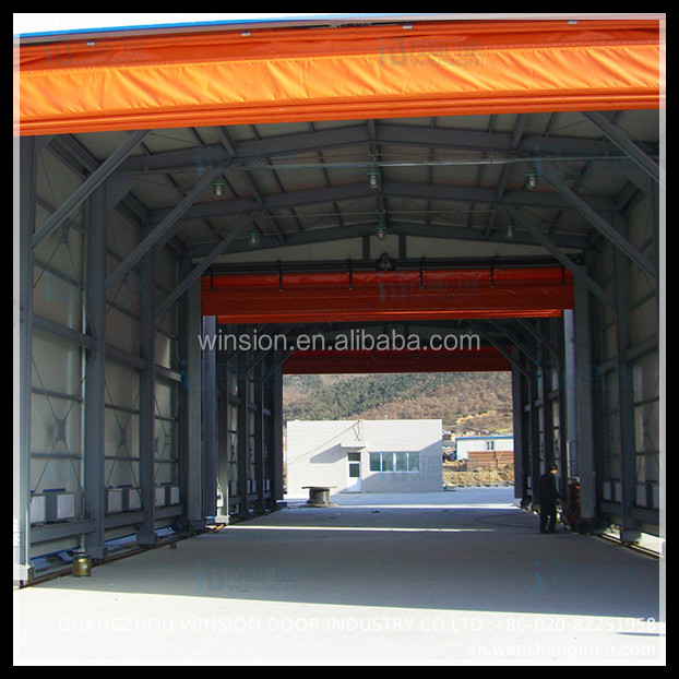 Garage aluminum China best price folding industrial door