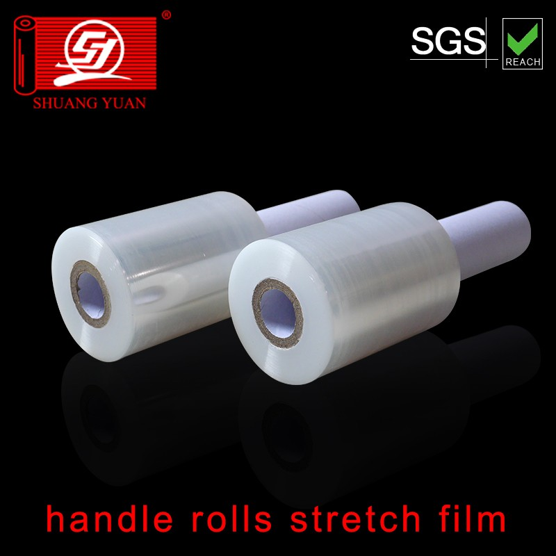 new brand roll hand pe film wrap lldpe roll packing film