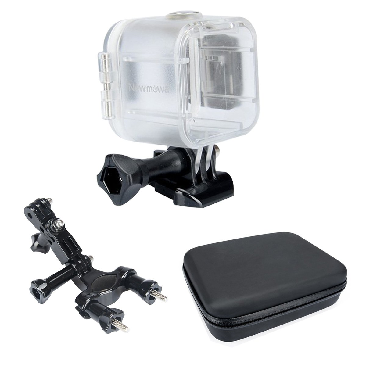 Newmowa Waterproof Case Accessory Kit for Polaroid Cube and Cube+
