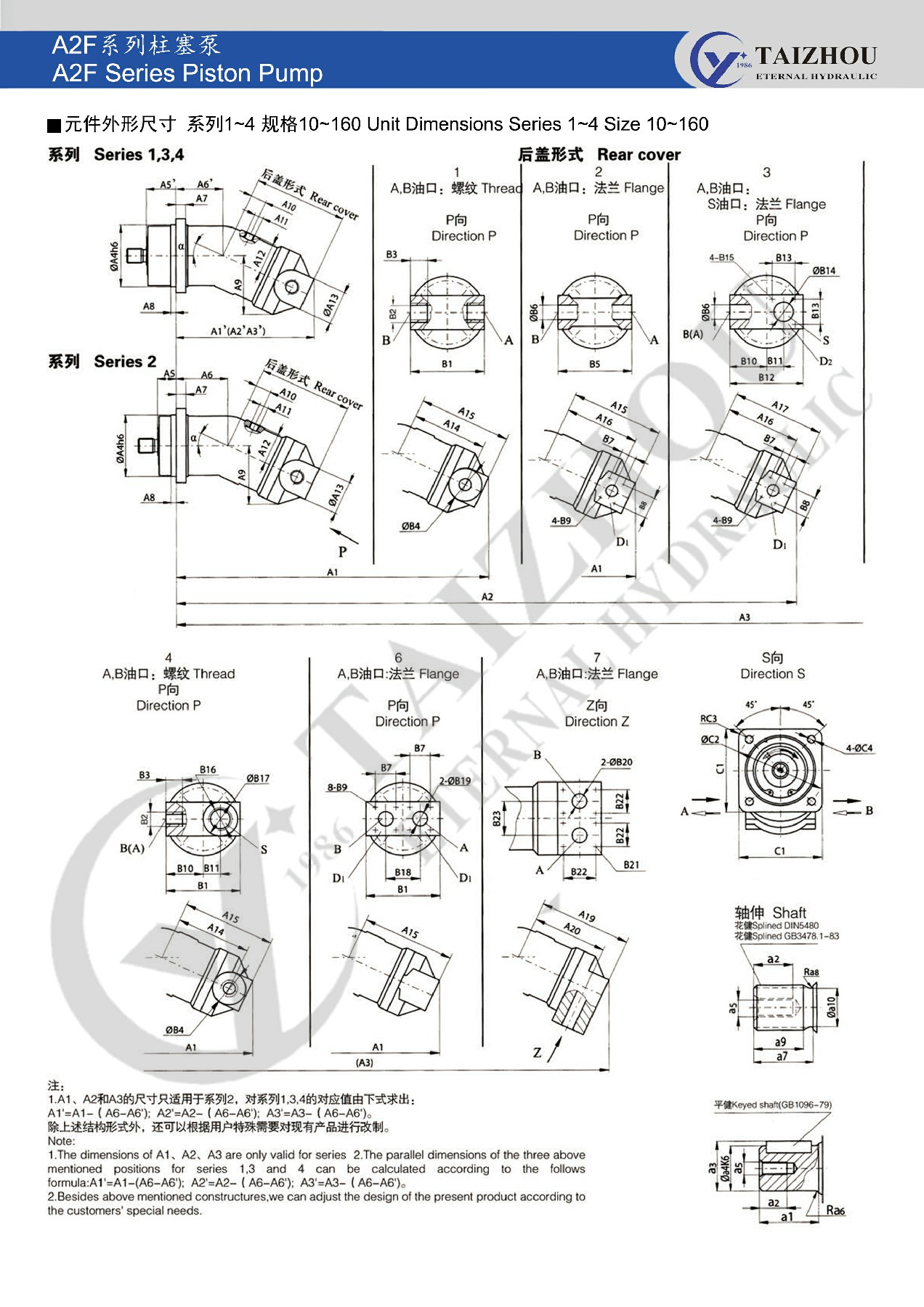 Поршневой двигатель A2F Rexroth 30Mpa высокого давления гидравлический насос аксиально поршневой для экскаватора kubota caterpillar cat 320c komatsu