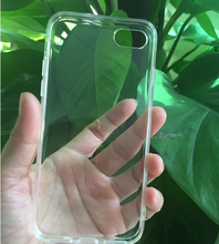 ultrathin transparent clear phone case TPU silicone phone case for iphone7