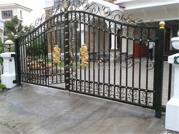Main Gate Color Design Iron Door Steel Garage Door