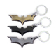 Super Heros Key Chains 3 Styles Batman KeyChains Bat Pendant Car Bag Key Rings The Avengers Marvels Key Holder Mans Gift Jewelry