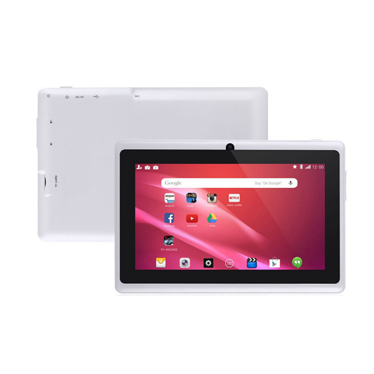 7 pollice Cheapest Allwinner A33 Android 4.4 Quad Core Tablet PC q88
