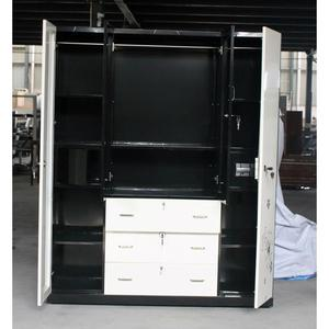 Best Price metal loset lockers bedroom godrej wardrobe design closet lockers sale