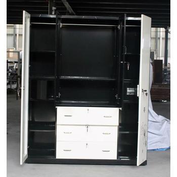 Best Price Metal Loset Lockers Bedroom Godrej Wardrobe Design Closet Lockers  Sale