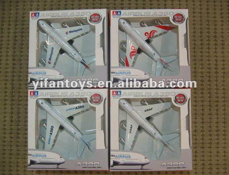 1:300 diecast model airplane