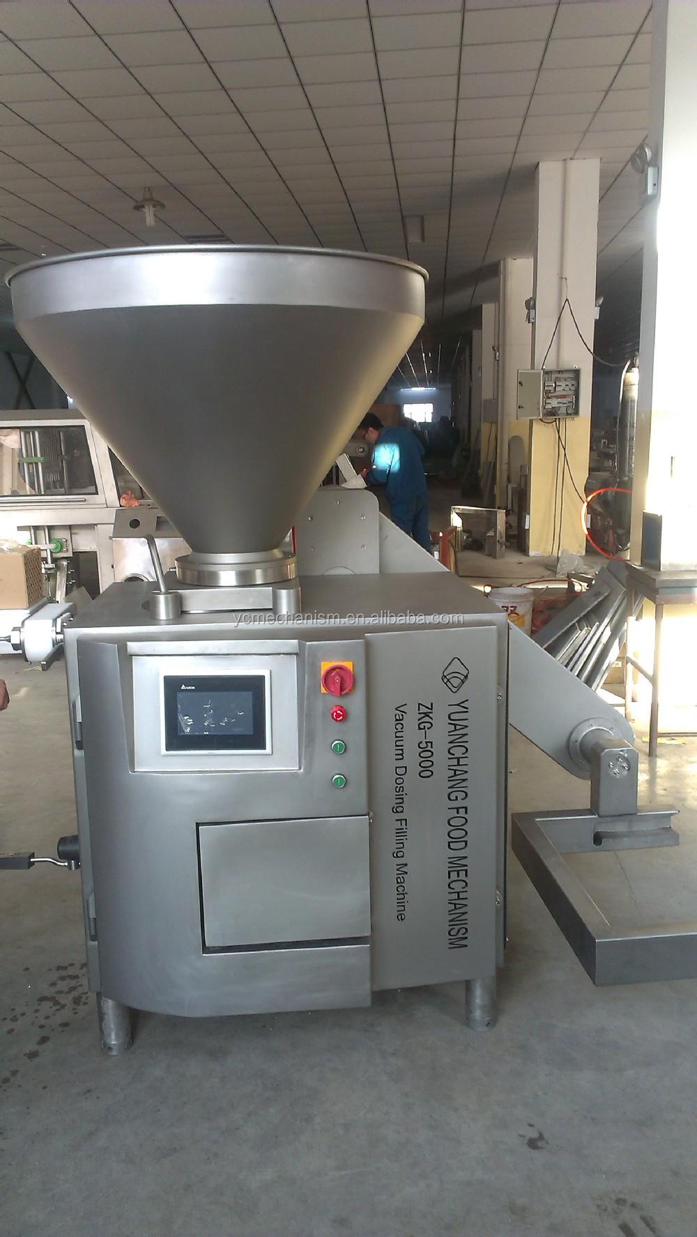 Spanish Chorizo Sausage Making Machine Line
