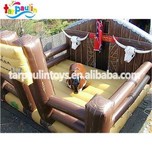Crazy Outdoor sport round bull bed