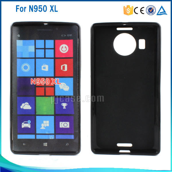 Factory price pudding frosted tpu case for nokia lumia 950 xl