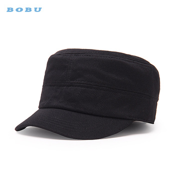 261be81310a1c sun hat outdoor hat new flat-cap fashion cotton unisex army service hat  custom logo