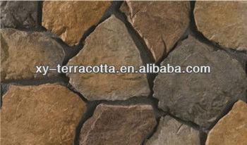 Foshan/guangzhou Gray Decorative Rock Face Stone For Exterior Wall ...