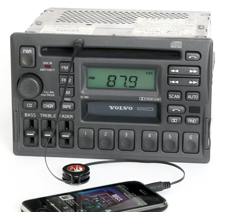 Get Quotations · Volvo 40 70 90 Series 1997-04 Radio AM FM CD CS Aux Input  3533771