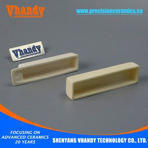 VHANDY foundry alumina rectangular ceramic crucible for cast