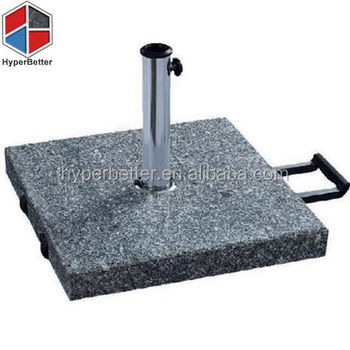 50kgs Square granite trolley umbrella base