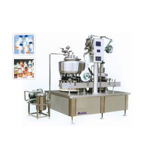 BEVERAGE DRINKING ALUMINUM FOIL SEALING AND FILLING MACHINE PRODUCTION LINE
