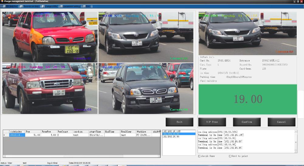 Smart Anpr Camera Car Parking Access Control System - Buy Parking ...