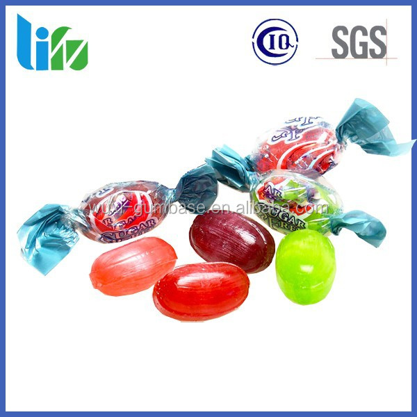 Private label sugar free center-filled hard candy