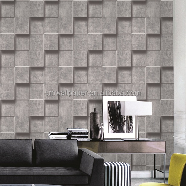 Embossed Suede Design Living room 3D wallpapers