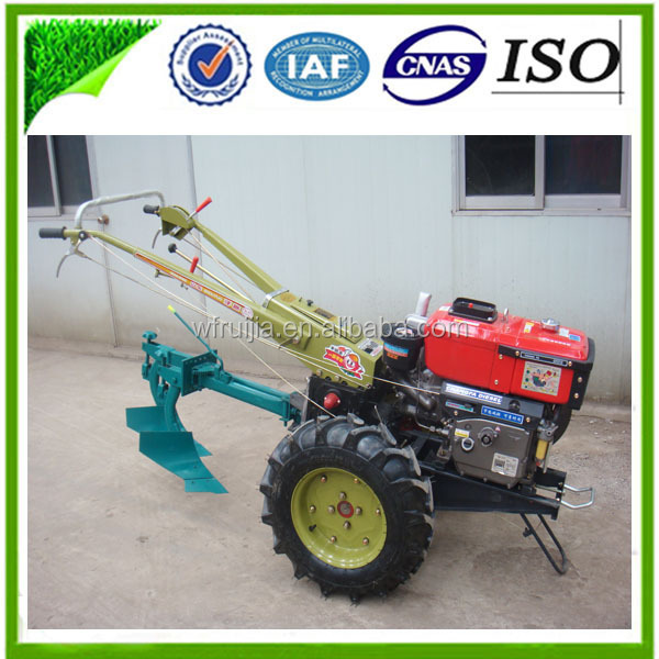 Walking Tractor Chinese Agriculture Machinery Single /double /flip ...