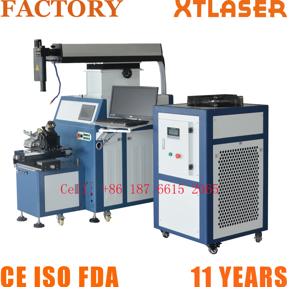 High precision automatic 400 watt yag laser welding machine for metal mould