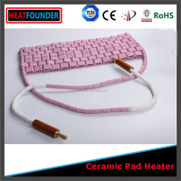 China Supplier Infrared ceramic heating pad for water pipe