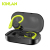 Kinlan TWS ipx7 waterproof bt 5.0 in-earphone handsfree sport earbuds high quality with Mic for Smartphones