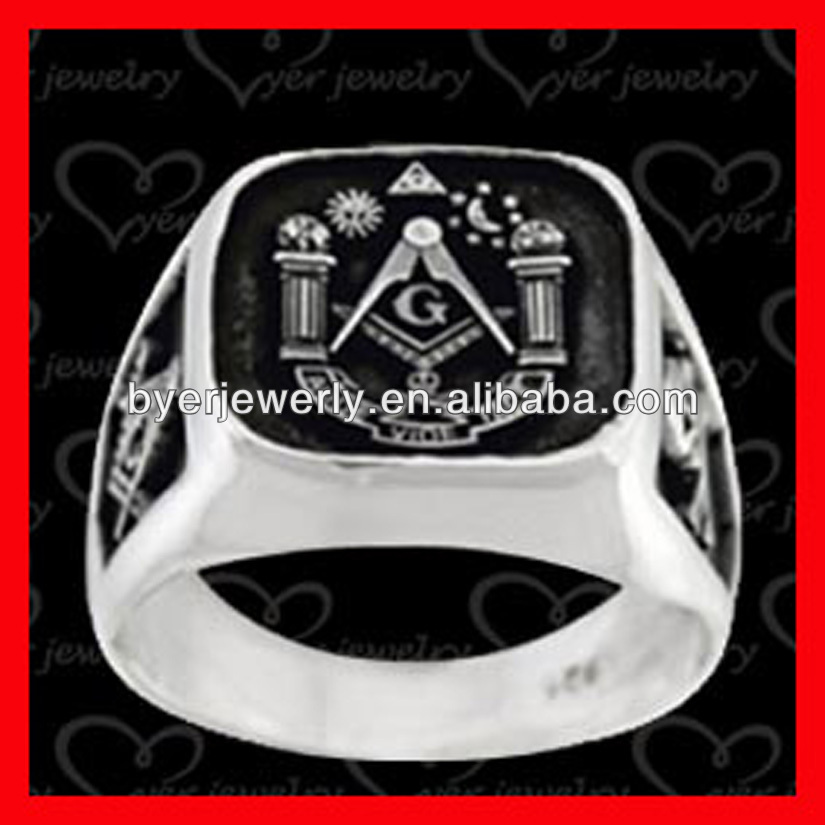 Casting Jewelry masonic ring male design