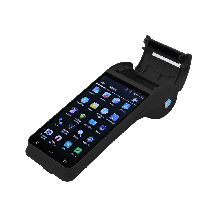 Z91 Hot sell 4G Android handheld pos with printer terminal for android restaurant pos system
