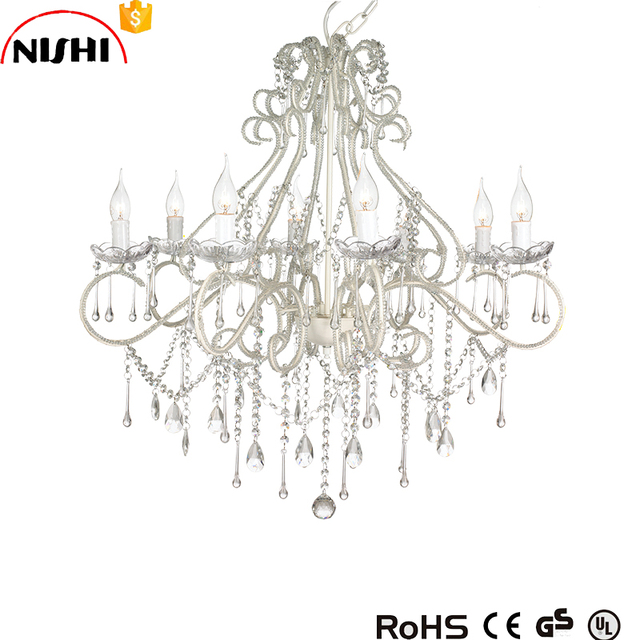 Buy cheap china wedding wholesale crystal chandelier products find china wholesale luxury crystal chandeliers white 8 lights wedding chandelier ns 120247 aloadofball Gallery