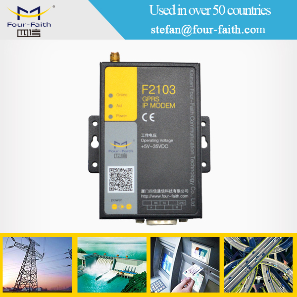 industrial m2m serial gsm vpn modem