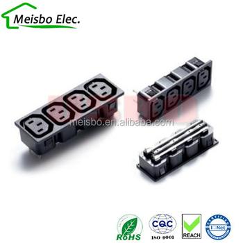 Four Socket C13 Cassette 4 Pdu Quadruple Rack Power Outlet Buy