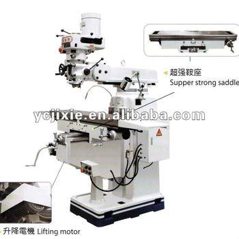 X6333 Knee-type Universal Ram Turret Milling Machine - Buy ...