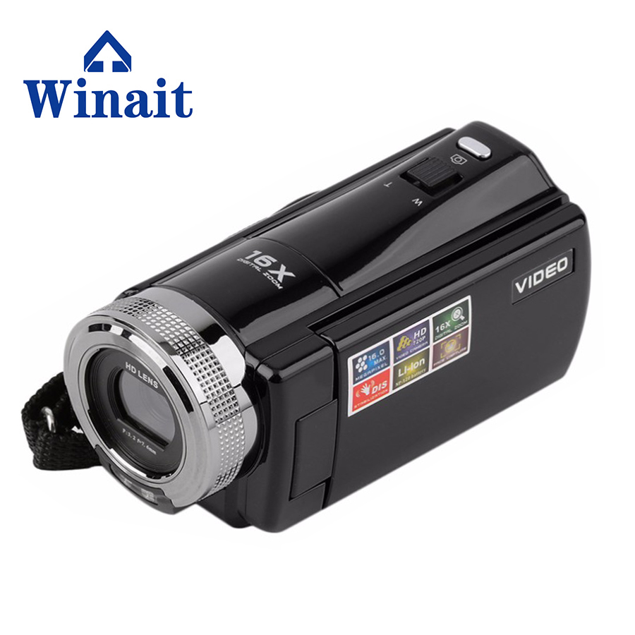 Mini DV 16MP HD Dijital Video Kamera DVR 2.7 '' TFT LCD 16x Zoom Hd Video Kaydedici Kamera 1280 x 720 p Dijital Kamera