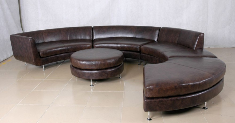 Salon Round Couch Sofa 9 Seater Modern Sectional Furniture