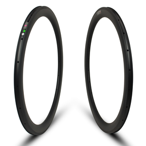 gigantex carbon rims 50mm x 25mm carbon clincher rims for road cycling with carbon braking surface for sale