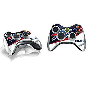 NFL Buffalo Bills Xbox 360 Wireless Controller Skin - Buffalo Bills Vinyl Decal Skin For Your Xbox 360 Wireless Controller